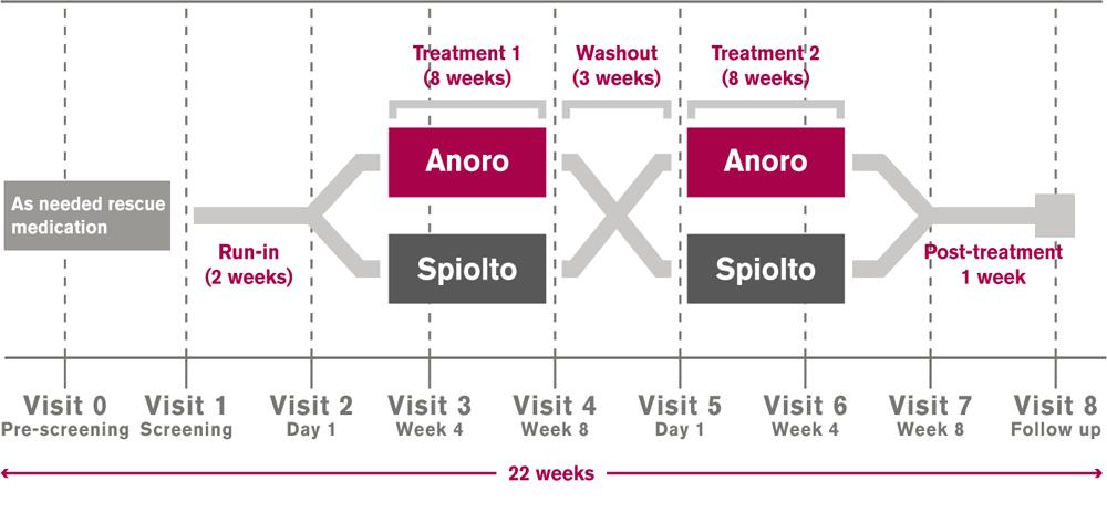 Anoro vs. Spiolto – Feldman et al. 2017