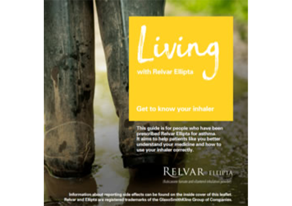 A booklet to support patients who have been prescribed Relvar, better understand their asthma diagnosis and their Relvar Ellipta inhaler